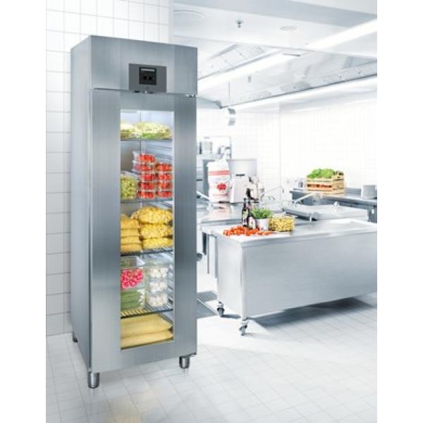LIEBHERR Refrigerated display case GKPv 6573 Glass door fridges