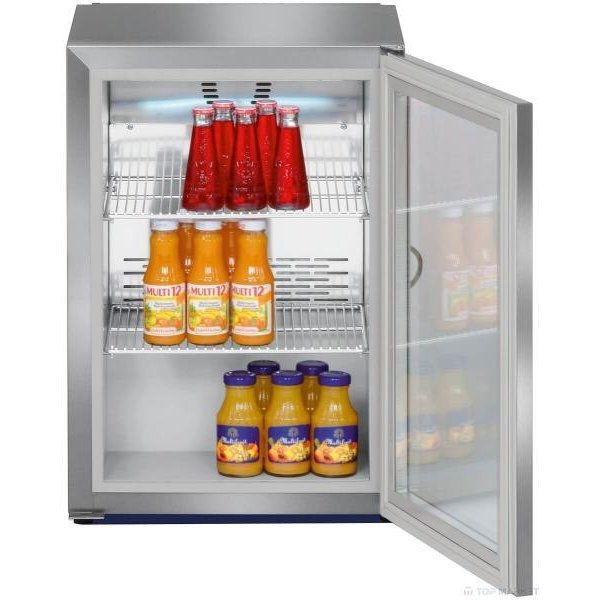 Liebherr Fkv 503 type 45 liter beverage cooler with glass door, stainless steel cover Coolers
