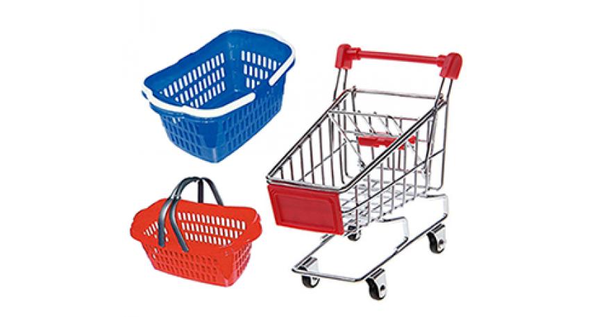 Shopping carts / Baskets