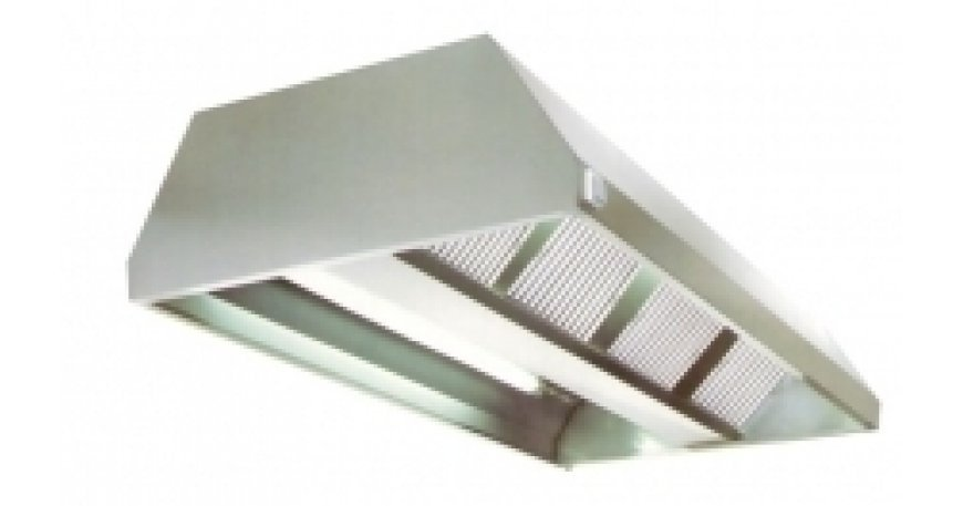 Stainless steel extraction hood