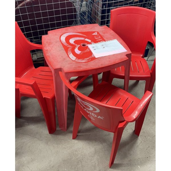 Outdoor tables - chairs (prices in the description!) Tables / Chairs (used)