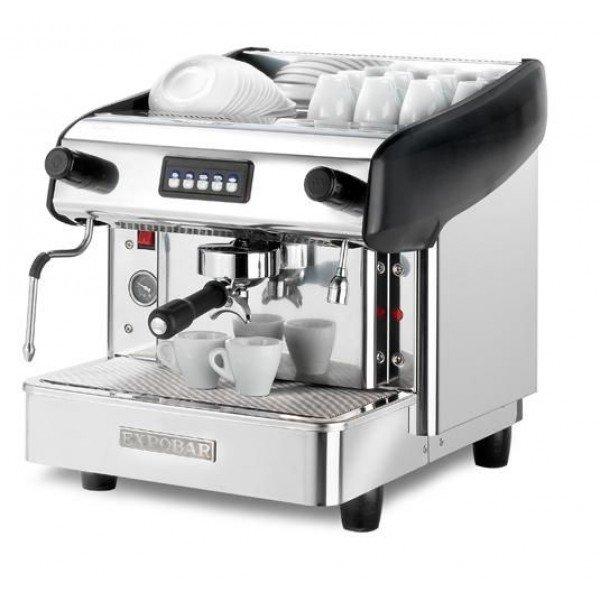 Expobar Megacrem single coffeemaker (Spanish coffee machine) is black Coffee makers