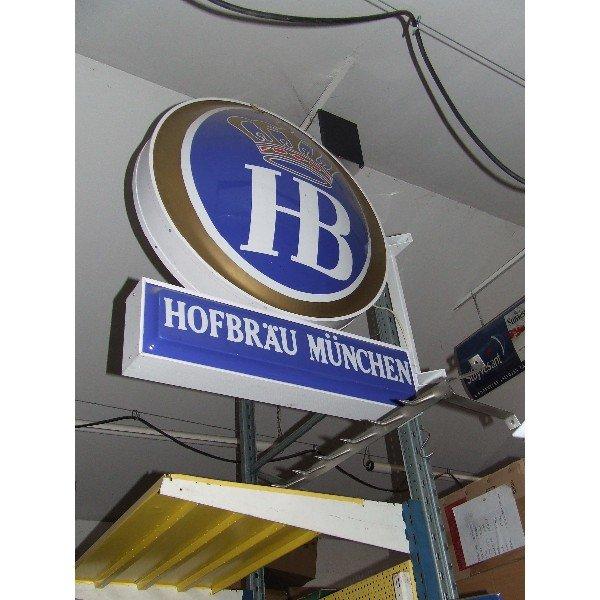 HB Hofbrau Munchen (A85)  Advertising boards