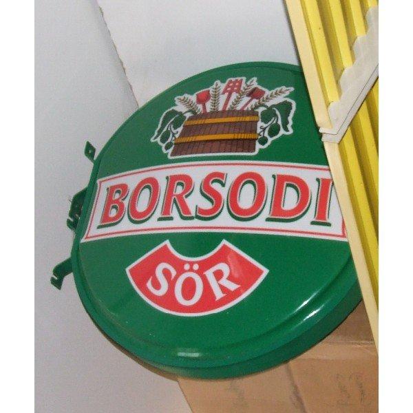 Borsodi advertising board (A403/9)  Advertising boards