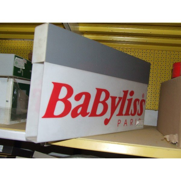 Babyliss Paris advertising board (A58)  Advertising boards