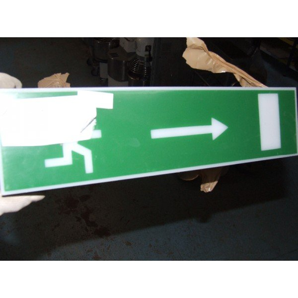 Emergency exit table (A302/1)  Advertising boards