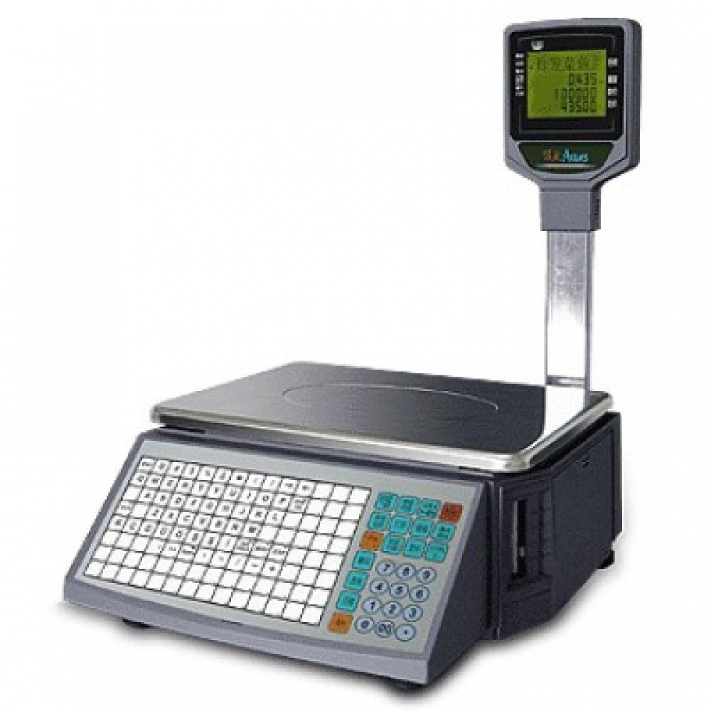 ACLAS LS2 Label and Bar Code Printer System Balance Scales
