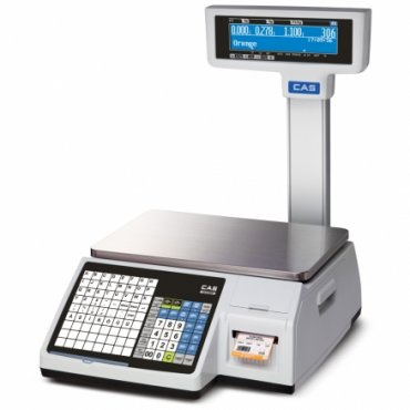 CAS CL5200-15P Authentic Labeling System Balance - Towered Scales