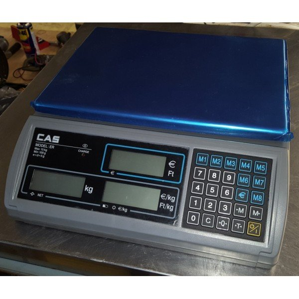 DIGITAL SCALES - CAS ER-15C Scales