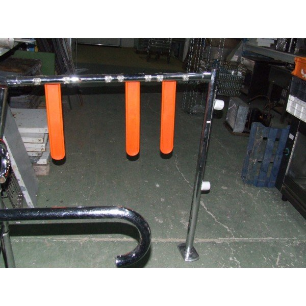 Wanzl car pass gate Customer guadience systems