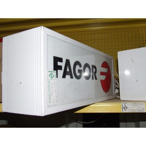 Fagor led advertising board (A58)  Advertising boards