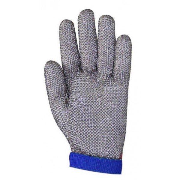 Tridentum Blue chain gloves   Chain Gloves / Aprons