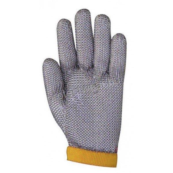 Tridentum Orange chain gloves   Chain Gloves / Aprons