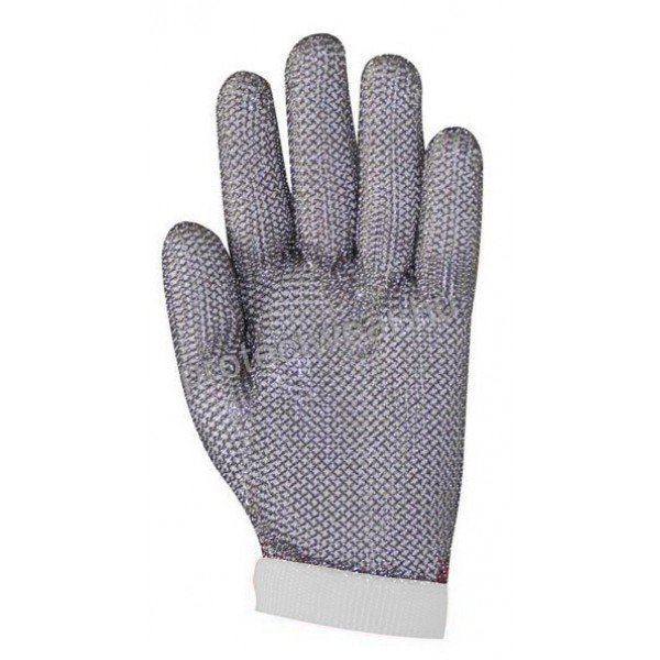 Tridentum chain white gloves   Chain Gloves / Aprons