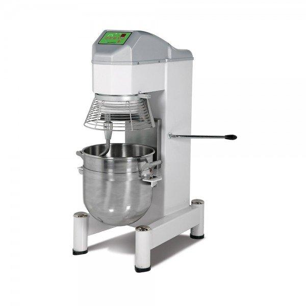 Whisk-kneading-mixer with 3-speed engine, 30-liter cauldron, Planetar mixer Whisk / Cream mixer