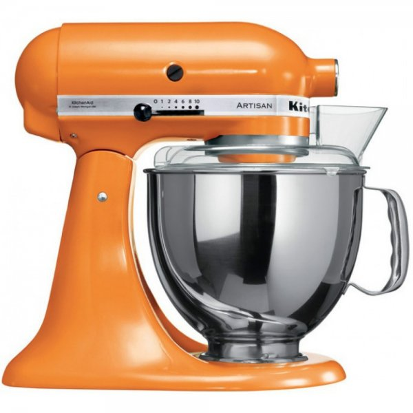 Kitchenaid 5ksm150psetg - 4.8 liters - with 6 accessories Whisk / Cream mixer