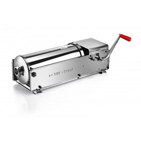 FACEM TreSpade 15 liter stainless lying stuffing horn / sausage Sausage / Chitterlings filling machine