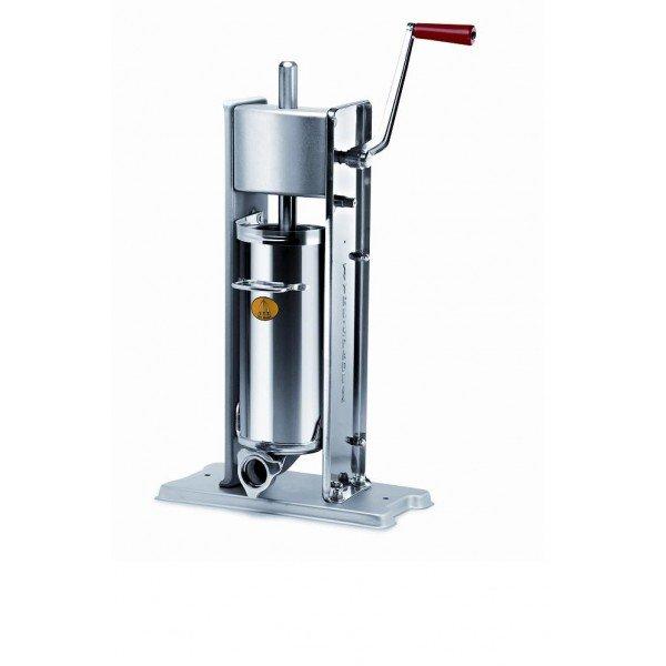 FACEM TreSpade 7 liter stainless standing stuffing horn / sausage Sausage / Chitterlings filling machine