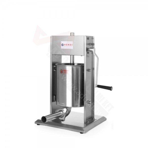 Manual sausage filler - PROFI - 7 liters Sausage / Chitterlings filling machine