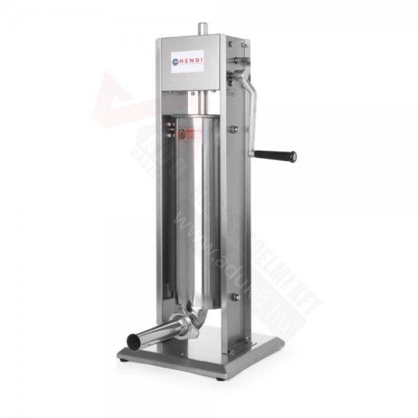 Manual sausage filler - PROFI - 10 liters Sausage / Chitterlings filling machine