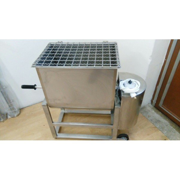 Stainless steel mixer - 40 liters - 230V Meat Machinery / Equipment