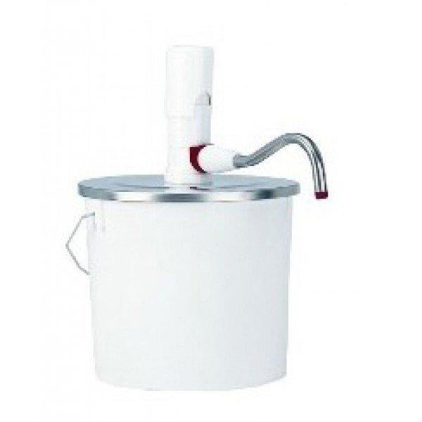 Pump sauce dispenser bucket 10 L sauce dispensers