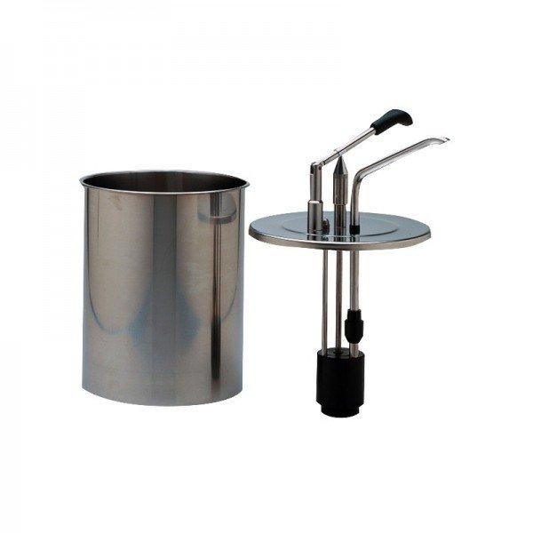 L 6-cylinder dispenser lever sauce dispensers