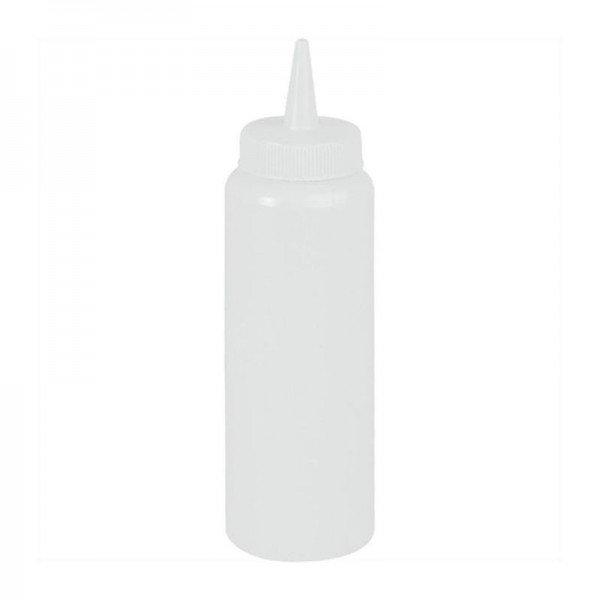 7 oz bottle - transparent sauce dispensers