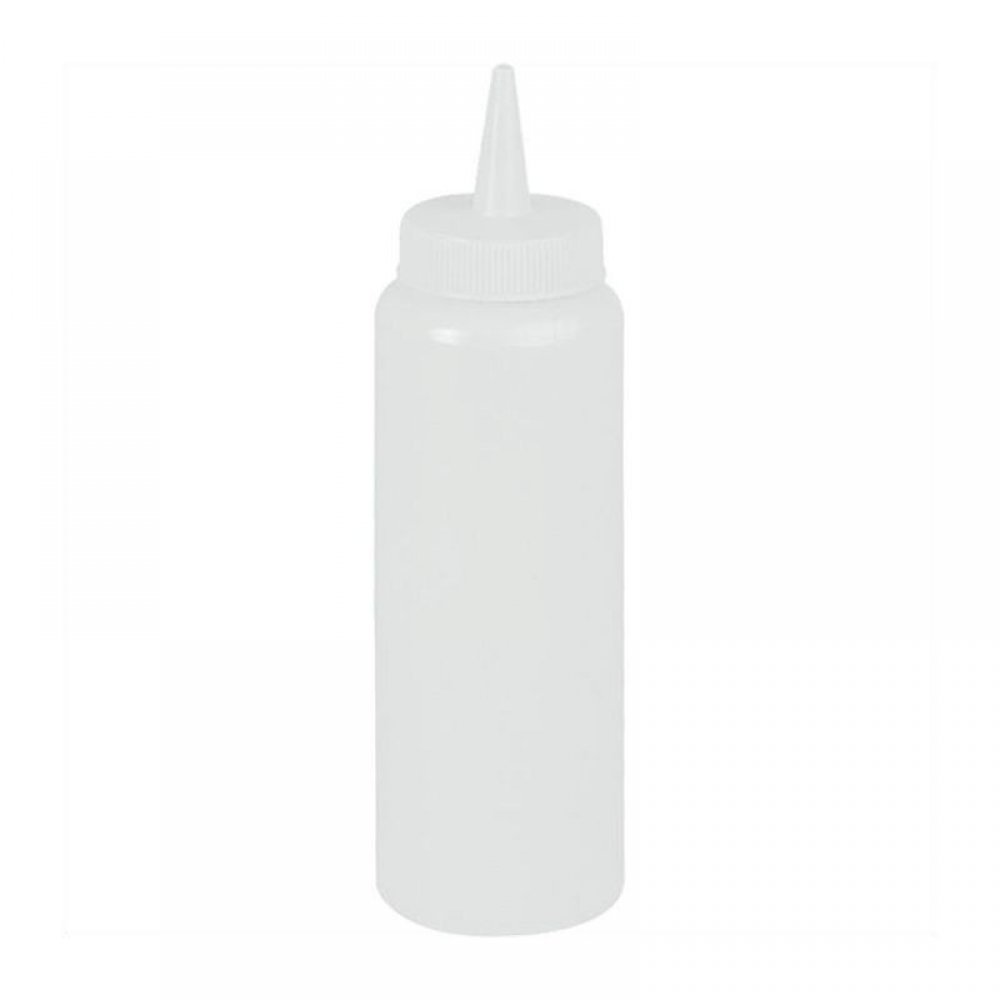 7 oz Bottle - White sauce dispensers