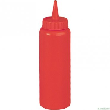 7 oz bottle - red sauce dispensers
