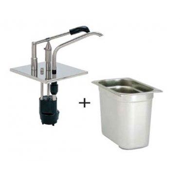 Lever dispenser GN 1/3 sauce dispensers