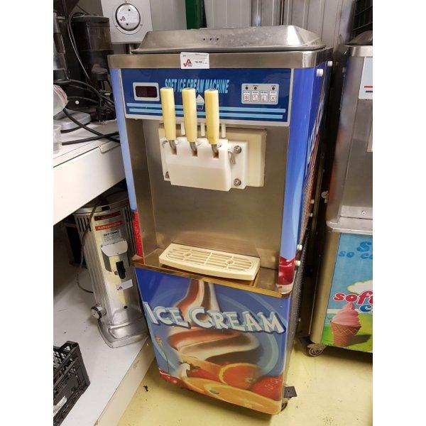 BQJ-20 - Soft wall planer with wheels and pump 2 × 10 Liter Soft ice cream machines