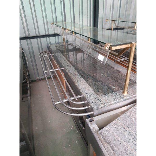 Granite Countertop Cold Storage Desk Cooling racks