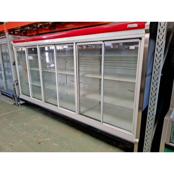 Glass door refrigerator with 6 doors Glass door fridges