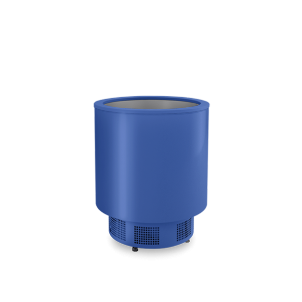 Igloo Impuls - Circular cooling chest 140L - With internal cooling unit Glass door fridges
