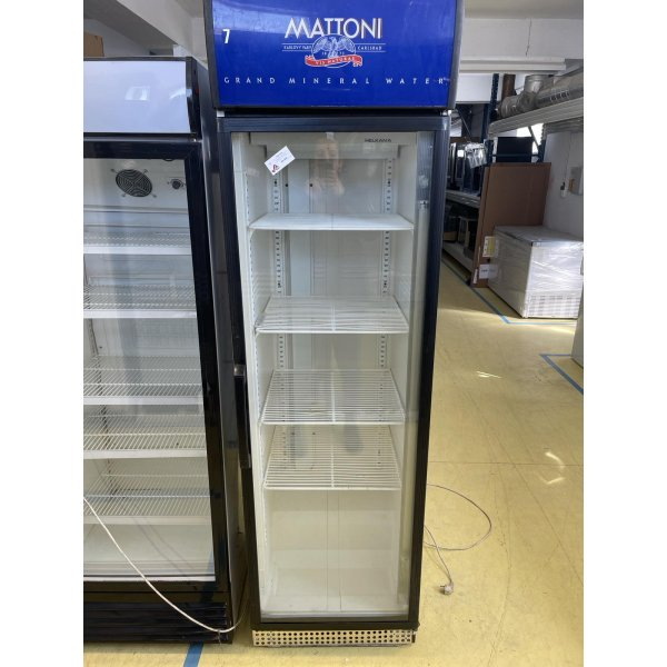 Refrigerated display case with glass doors  Glass door fridges