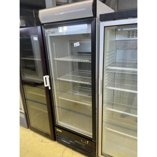 Refrigerated display case with glass doors - 370 liters Glass door fridges