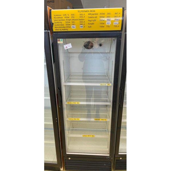 Refrigerated display case with glass doors - 360 liters Glass door fridges