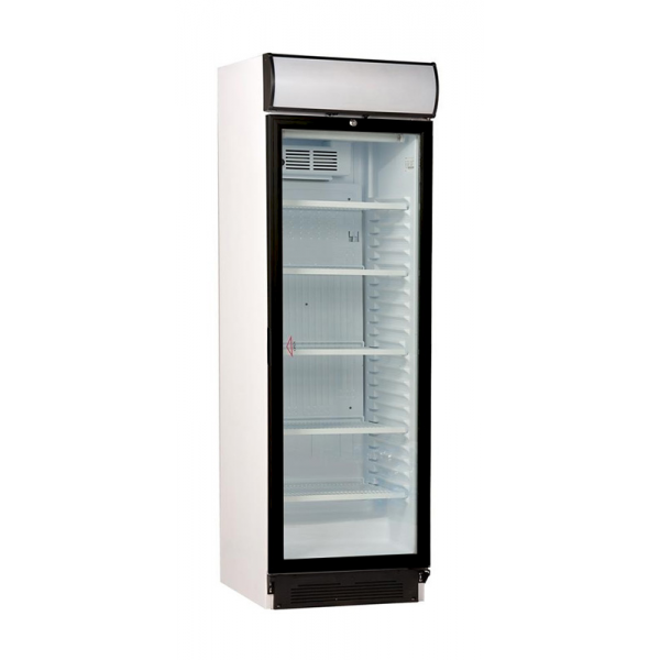 USS 374 DTKLE Refrigerated display case with glass door Coolers