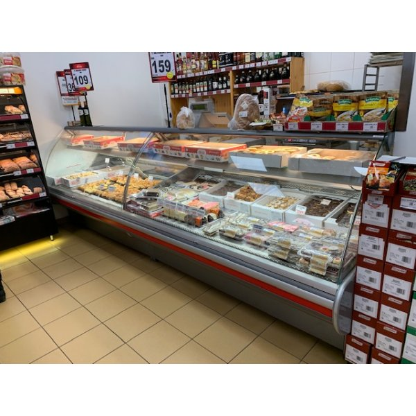 CRIOCABIN ERGO delicacy counter   3.2 m Refrigerated counter