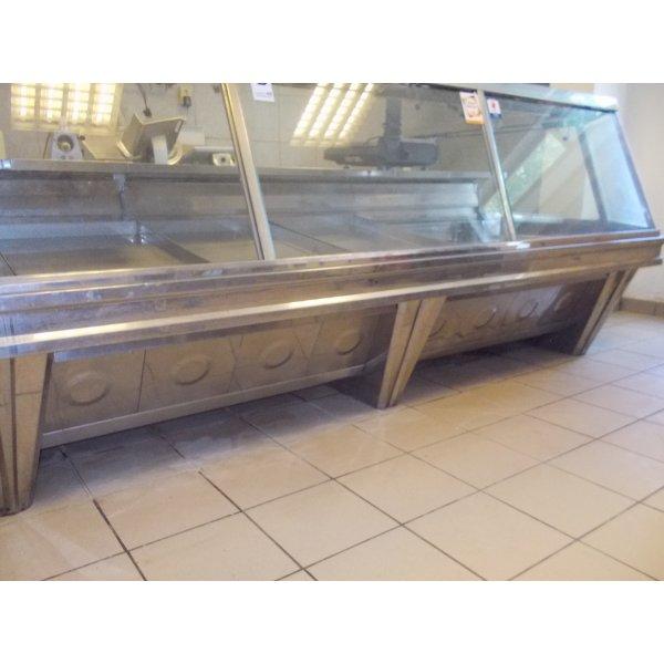 INOX delicatessen  fridge Refrigerated counter