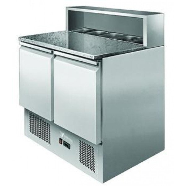 ESL3831 - Pizza preparation table (salad cooler insert)  Salad refrigerator