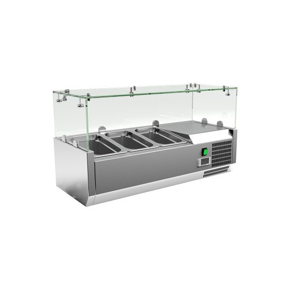 Chiller 3xGN1 / 4 - 85 cm Salad refrigerator