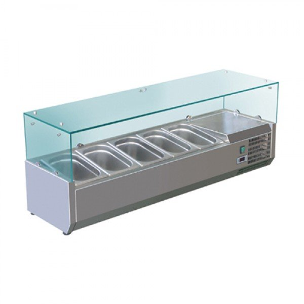 Conditional cooling 5xGN1 / 4 Cool Head VRX 12/33 Salad refrigerator