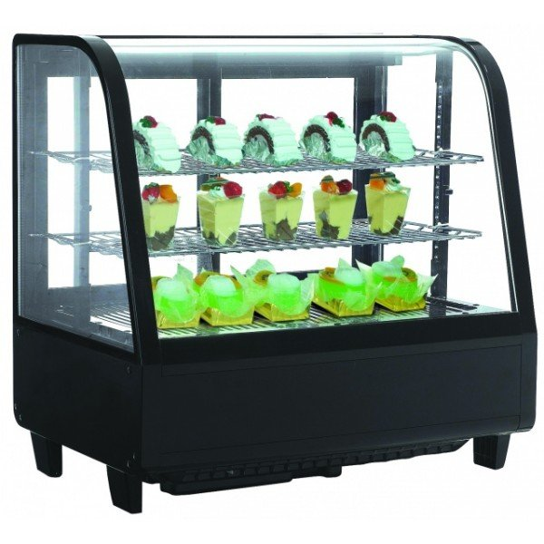 RTW-100 - Display cooler with curved glass display Confectionary coolers
