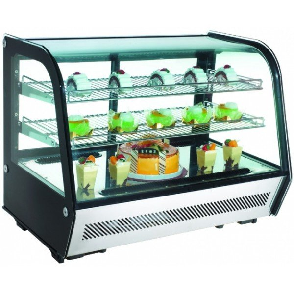 RTW-160 - Display cooler with curved glass display Confectionary coolers