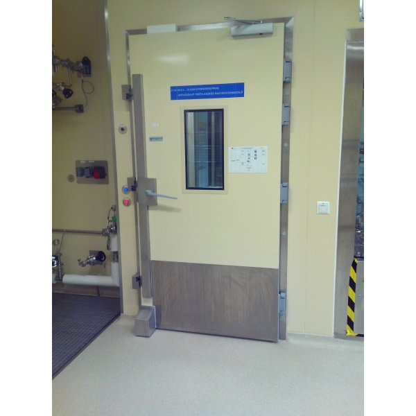 Laboratory chamber door Walk-in freezer / chiller