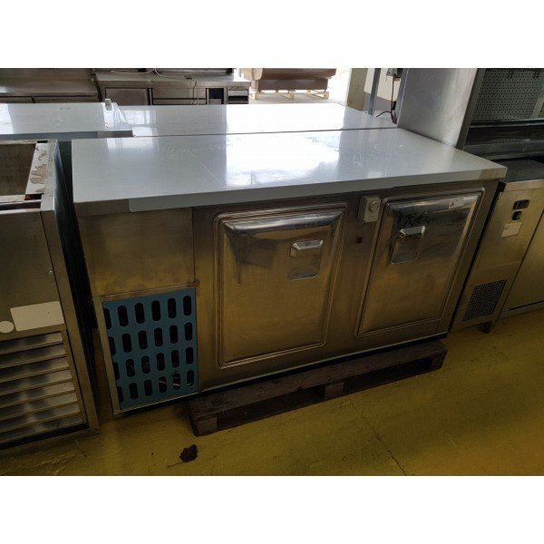 2-door refrigerated worktable Refrigerated bench / table