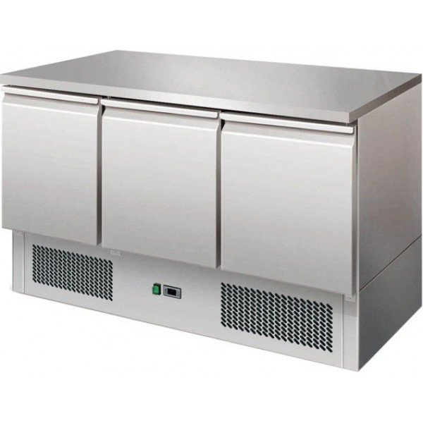 Forcar S903TOP 3-door refrigerated worktable Refrigerated bench / table