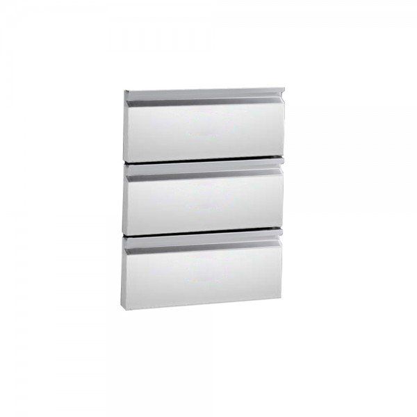 Drawer Set - 3 drawers Refrigerated bench / table